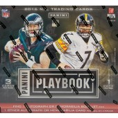 2016 Panini Playbook Football Hobby 15 Box Case