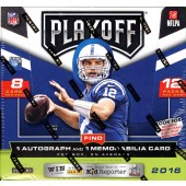 2016 Panini Playoff Football Hobby 20 Box Case