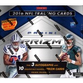2016 Panini Prizm Football Jumbo 12 Box Case
