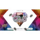 2016 Upper Deck Marvel Gems Box