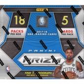 2017/18 Panini Prizm Basketball Fast Break 20 Box Case