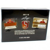 2017/18 Leaf Stickwork Hockey Box