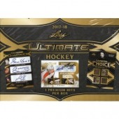 2017/18 Leaf Ultimate Hockey 12 Box Case