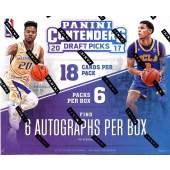 2017/18 Panini Contenders Draft Basketball Hobby Box