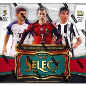 2017/18 Panini Select Soccer Hobby 12 Box Case
