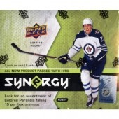 2017/18 Upper Deck Synergy Hockey 10 Box Case