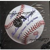 2017 HA Ball of Fame Inscriptions Baseball 12 Box Case