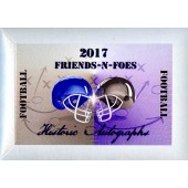 2017 Historic Autographs Friends-N-Foes Football 12 Box Case