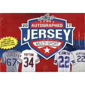 2017 Leaf Autographed Jersey Multi-Sport Edition 8 Box Case