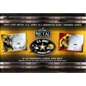 2017 Leaf Metal US Army All-American Football Box