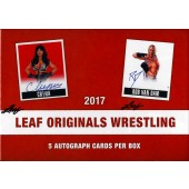 2017 Leaf Originals Wrestling Hobby Box