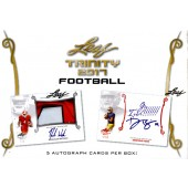 2017 Leaf Trinity Football Hobby 10 Box Case