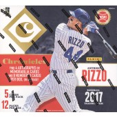 2017 Panini Chronicles Baseball Hobby 16 Box Case