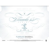 2017 Panini Flawless Baseball Hobby Box