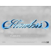2017 Panini Flawless Collegiate Football Hobby 2 Box Case