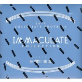 2017 Panini Immaculate Collegiate Football Hobby 5 Box Case