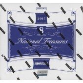 2017 Panini National Treasures Racing Hobby 4 Box Case