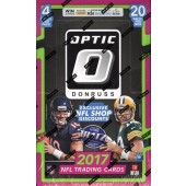 2017 Panini Donruss Optic Football Hobby 12 Box Case