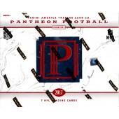2017 Panini Pantheon Football Box