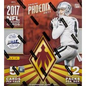 2017 Panini Phoenix Football Hobby 8 Box Case
