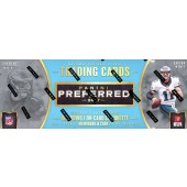 2017 Panini Preferred Football Hobby 10 Box Case