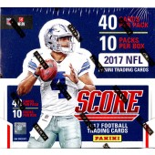2017 Panini Score Football Jumbo Box