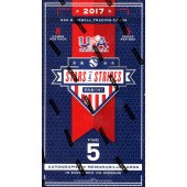 2017 Panini Stars and Stripes Baseball Hobby Box