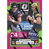 2017 Panini Donruss Optic Football Blaster 20 Box Case