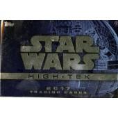 2017 Topps Star Wars High Tek Hobby 12 Box Case
