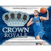 2018/19 Panini Crown Royale Basketball Hobby 16 Box Case