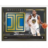 2018/19 Panini Impeccable Basketball Hobby 3 Box Case