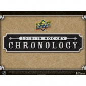 2018/19 Upper Deck Chronology Hockey Hobby Box