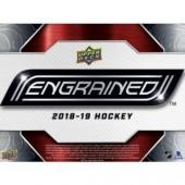 2018/19 Upper Deck Engrained Hockey Hobby Box