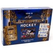 2018/19 Leaf Ultimate Hockey 10 Box Case