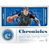 2018/19 Panini Chronicles Basketball Hobby 12 Box Case