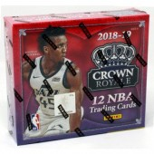 2018/19 Panini Crown Royale Basketball Hobby 16 Box Case