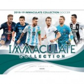 2018/19 Panini Immaculate Soccer Hobby 6 Box Case
