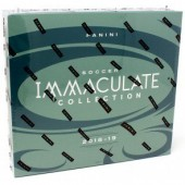 2018/19 Panini Immaculate Soccer Hobby 6 Box Case