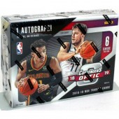 2018/19 Panini Contenders Optic Basketball Hobby 20 Box Case