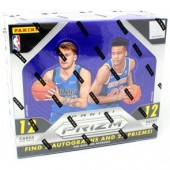 2018/19 Panini Prizm Basketball Hobby 12 Box Case