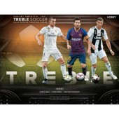 2018/19 Panini Treble Soccer Hobby 10 Box Case