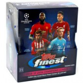 2018/19 Topps Finest UEFA Champions League Soccer Hobby 8 Box Case
