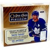 2018/19 O-Pee-Chee Platinum Hockey Hobby 8 Box Case