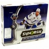 2018/19 Upper Deck Synergy Hockey 10 Box Case