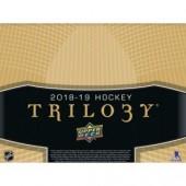 2018/19 Upper Deck Trilogy Hockey Hobby 10 Box Case