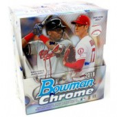 2018 Bowman Chrome Baseball Hobby 12 Box Case