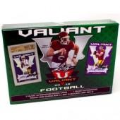 2018 Leaf Valiant Football Hobby 12 Box Case