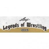 2018 Leaf Legends of Wrestling Hobby 12 Box Case