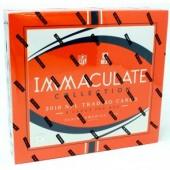 2018 Panini Immaculate Football Hobby 6 Box Case