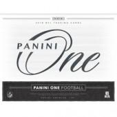 2018 Panini One Football Hobby 10 Box Case